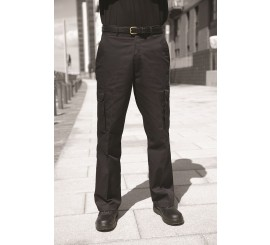 Warrior TR320 Cargo Trousers Black - 01NWTR320BK