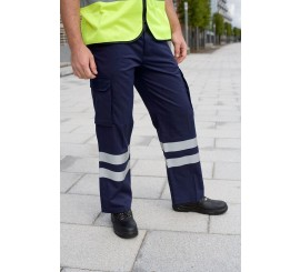 Warrior Cargo Trs Navy C/W Hv Tape - 01NWTR324NV
