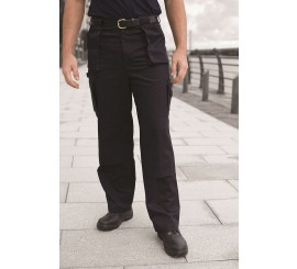 Warrior Super Cargo Trousers Black - 01NWTR381BK