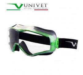 Univet 6x3 Metal Green Goggles - 016X3000000