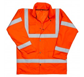 Warrior Hi Vis Utah Anorak Orange - 0118NWBFAGO