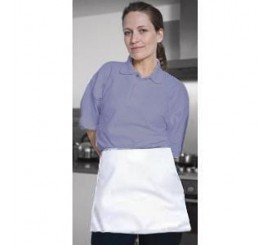 Warrior AP205 Half Apron - White - 01NWAP205WH