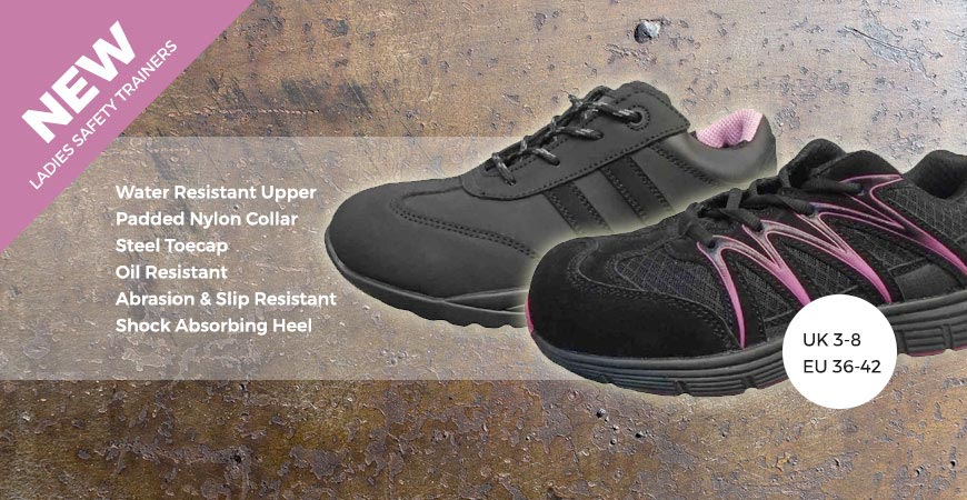 Womens Safety Trainers